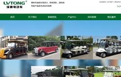 绿通新能源 营销型网站