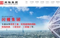 闰雅实业 网站建设